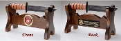 KA-Bar Fighting Knife Display Stand, Knife Display Stand